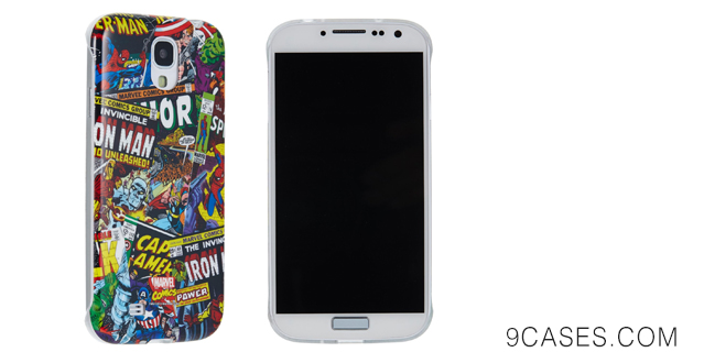 Anymode Samsung Galaxy S4 Marvel Avengers Comics Polycarbonate Case