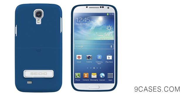Seidio CSR3SSGS4K-RB SURFACE with Metal Kickstand Case for Samsung Galaxy S4