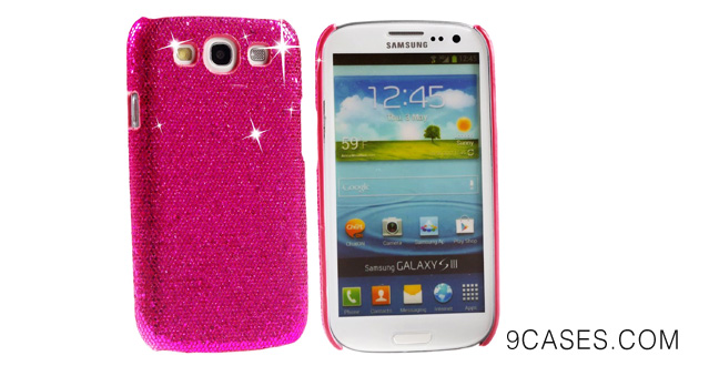 12 pieces Bling Sparkle Hard Cover Case Bundle for Samsung Galaxy S III