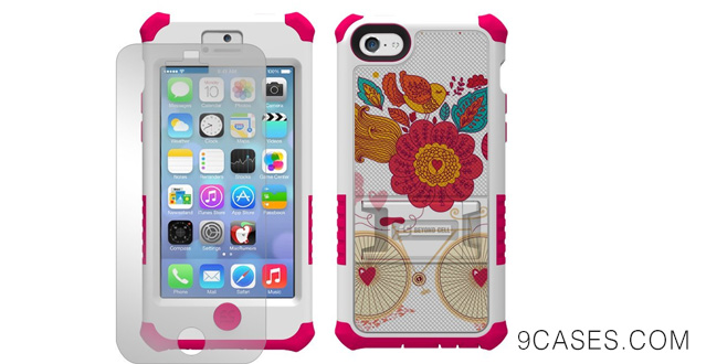 Case with Built-In Kickstand for Apple iPhone 5C Lite