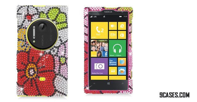 EAGLE CELL Sparkling Diamond Bling Case for Nokia Lumia 1020 [AT&T]