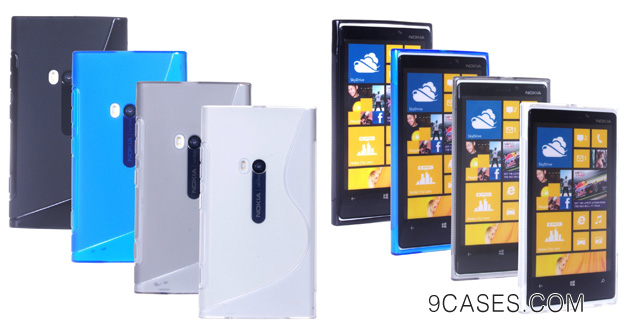 ECO-FUSED 7 pieces Swave TPU Flex Gel Cover Case Bundle for NOKIA LUMIA 920