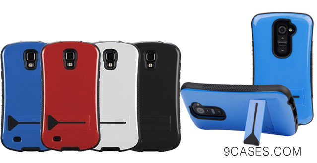 Evecase CurveShell Glossy Hard Cover Bumper Case with Kick-Stand for Samsung Galaxy Note 3 III