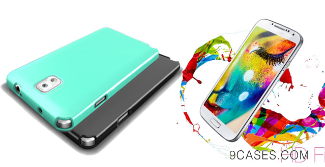 Exclusive CellTo Anti-Slip TPU Crystal Silicone Case + Free Screen Protector for Samsung Galaxy S4