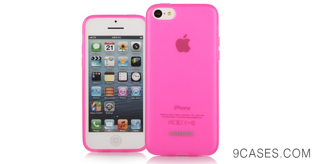 KAYSCASE Slim Soft Gel Cover Case for Apple new iPhone 5