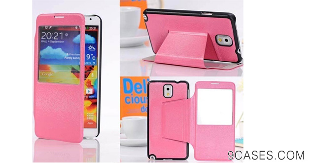 New Leather Flip Wallet Case Cover Stand For Samsung Galaxy Note 3 N9000