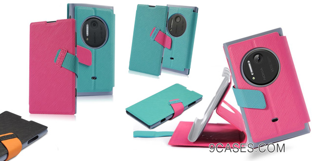 VSTN®Nokia EOS Lumia 909 1020 Ultra-thin Pu Leather Wallet Case