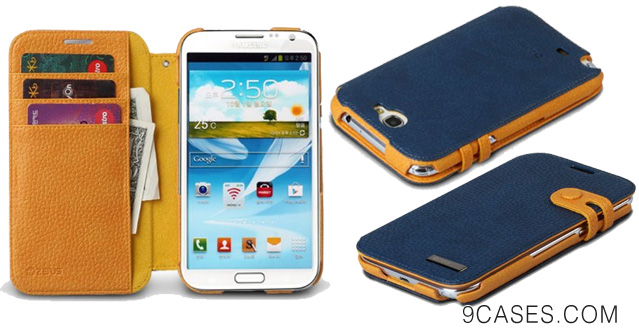 Zenus SANT2-MP5DY-NV Color Edge Diary for Galaxy Note 2 - Retail Packaging