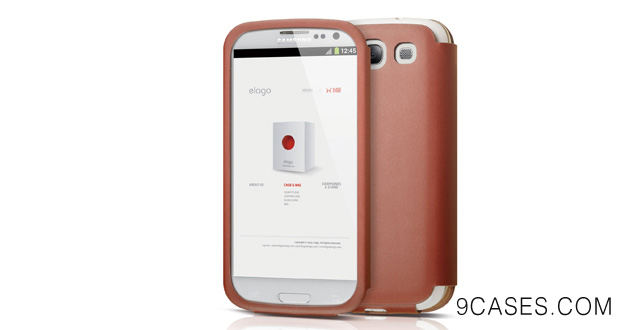 elago G5 Genuine Leather Pocket Case for Galaxy S3 + HD Professional Extreme Clear film included