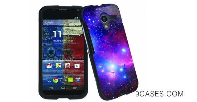 30-[ArmorXtreme] Motorola MOTO X XT1080 Total Protection Image Cover Case [Space]