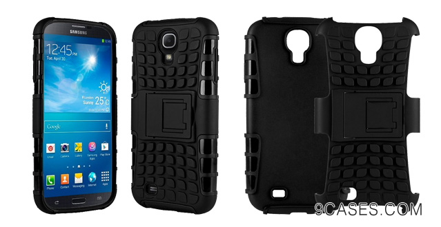 01-HHI Dual Armor Composite Case with Stand for Samsung Galaxy Mega 6