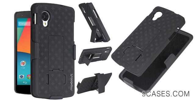 04-Maxboost Google Nexus 5 Case Shell Holster Combo