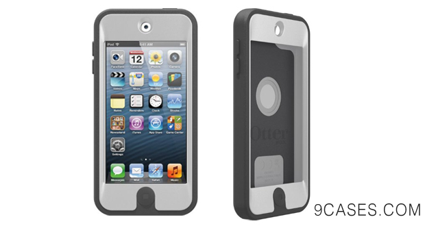 10-OtterBox AMZ Defender Series Hybrid Case for iPod touch 5G - Glacier