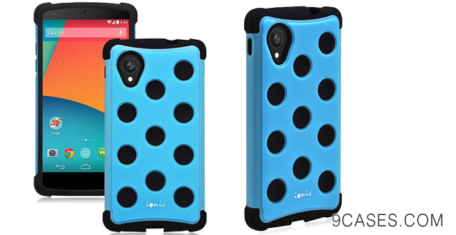 11-Ionic GUARDIAN Armor LG Google Nexus 5 Case (Blue)