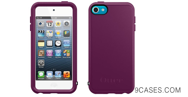 11-OtterBox Prefix Series Hybrid Case for iPod touch 5G - Thistle