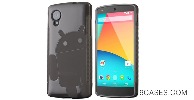 22-Cruzerlite Androidified A2 Case for LG Nexus 5 - Retail Packaging - Smoke