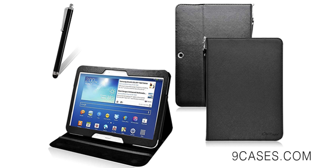 03-COD(TM) Stand Leather Case For Samsung Galaxy Tab 3 10.1 Inch 10