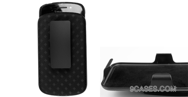 10-Shell Holster Combo Case with Kick-stand & Belt Clip for Your  Blackberry Z10