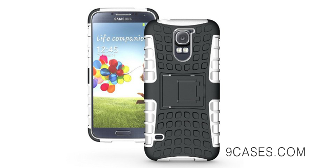 02-Cush Cases Heavy Duty Rugged Cover Case for Samsung Galaxy S5 SV S V Smart Phone - GRAY