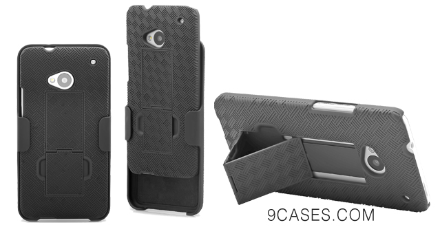 03-Aduro Shell Holster Combo Case with Kick-Stand & Belt Clip