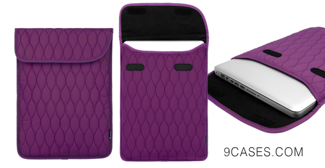 14-CaseCrown Tidal Sleeve Case (Purple) for 13 Inch Apple MacBook Air MacBook Pro with Retina Display