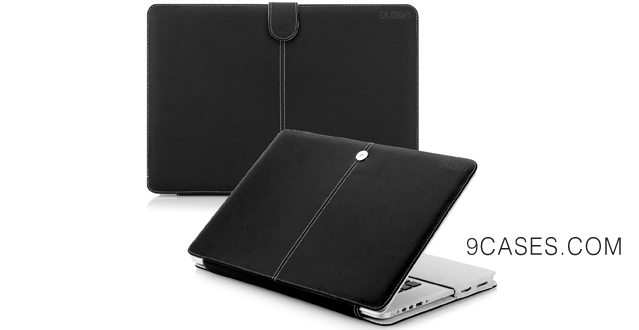 15-Duzign Nobility Case (Black) for 13 Inch MacBook Pro with Retina Display