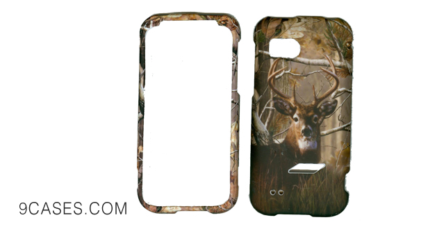 15-wirelessoutletusa Thunderbolt 2 6425 Phone Case Cover Snap OnHard RubberizedProtector Cam0 Real Tree Hunter Buck Deer