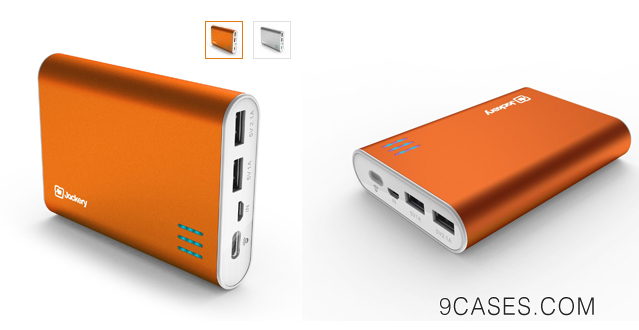 01-Jackery Giant High-capacity Premium Aluminum Portable Charger 10400mAh External Battery Backup Power Bank