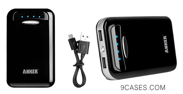 03-Anker® Astro E5 15000mAh Dual USB Portable Charger Ultra-High Density External Battery Pack for iPad Air, Mini, iPhone 5S, 5C, 5, 4S, Galaxy S5, S4,