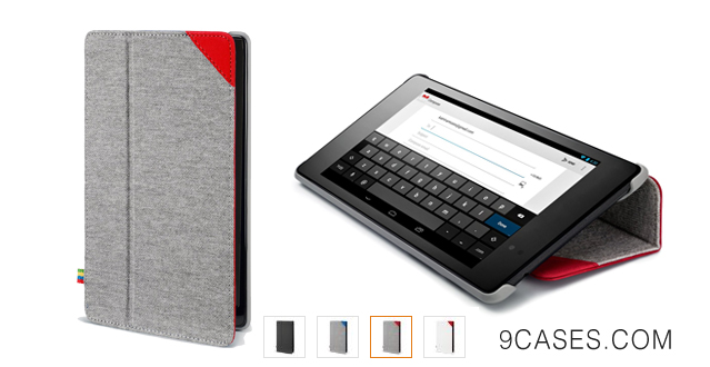 04-Google Case for Nexus 7, Grey Red (07083311)