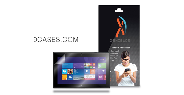 15-XShields© (5-Pack) Tablet Screen Protectors for Nokia Lumia 2520 (Ultra Clear)