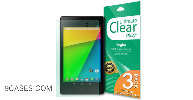 18-Rearth ULTIMATE CLEAR PLUS - New Google Nexus 7 2013 2nd Generation HD Clear Screen Protector
