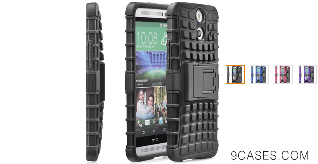 03-Fosmon [RUGGED] HTC One (E8) 2014 Case