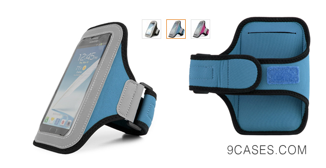 03-Hardcore Workout Armband Pouch Case for OnePlus One Smartphone