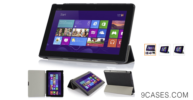 03-IVSO Microsoft Surface Pro 3 Ultra Lightweight Slim Smart Cover Case-will only fit Microsoft Surface Pro 3 Tablet (Black)