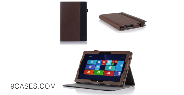 06-ProCase Premium Folio Cover Case with Stand for Microsoft Surface PRO 3 (3rd Generation) Windows 8