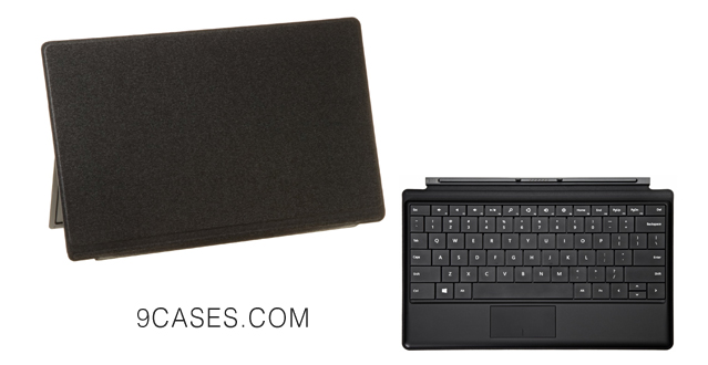 13-Black Type Cover for Microsoft Surface