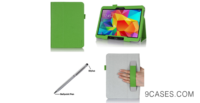 07-ProCase Samsung Galaxy Tab S 10.5 Case - Bi-Fold Flip Stand Cover Case exclusive for 2014 Galaxy Tab S Tablet 10