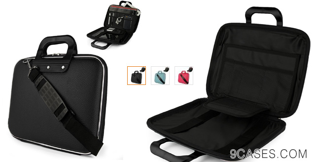 08-JET BLACK Ultra Cady Cube Durable Tactical Messenger Bag Case for Microsoft Surface 2 Pro