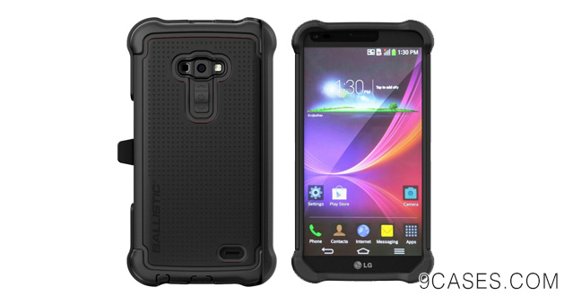 15-Ballistic SG Maxx Series for LG G Flex, Black Black