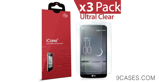 16-iCarez® [HD Clear] Highest Quality Premium LG G Flex