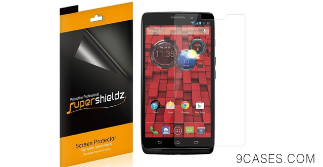 01-[6-Pack] SUPERSHIELDZ- High Definition Clear Screen Protector For Motorola Droid Ultra
