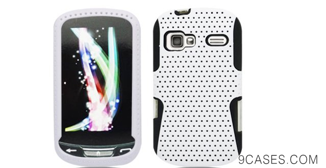 02-Aimo Wireless LGLM272PCPA008 Hybrid Armor Cheeze Case for LG Rumor