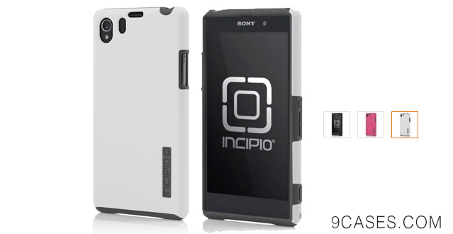 02-IncipioDualPro Case for Sony Xperia Z1-Carrying Case-Retail
