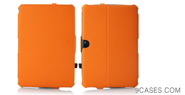 02-MoKo Slim-Fit Multi-angle Folio Cover Case for Google Nexus 10 Android Tablet by Samsung,