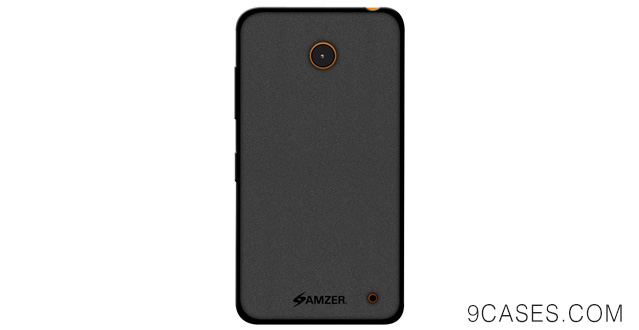 03-Amzer Pudding Soft Gel TPU Skin Fit Case Cover for Nokia Lumia 635 630 - Retail Packaging - Black