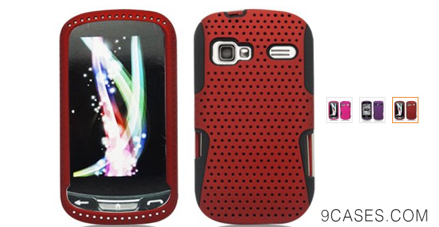 04-Aimo Wireless LGLM272PCPA003 Hybrid Armor Cheeze Case for LG Rumor