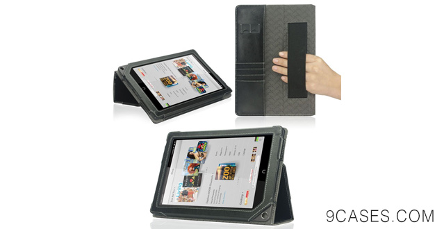 05-Poetic Slimbook Leather-Like Case for Nook HD+ 9