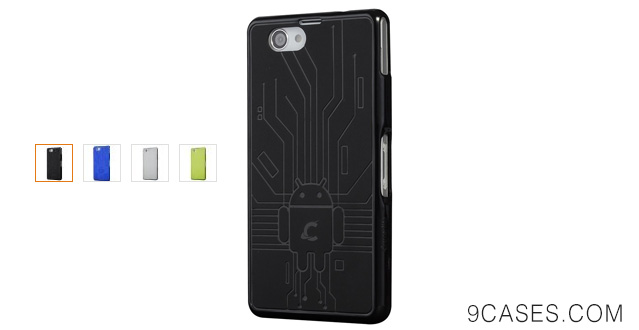 06-Cruzerlite Bugdroid Circuit Case for Sony Xperia Z1 Compact