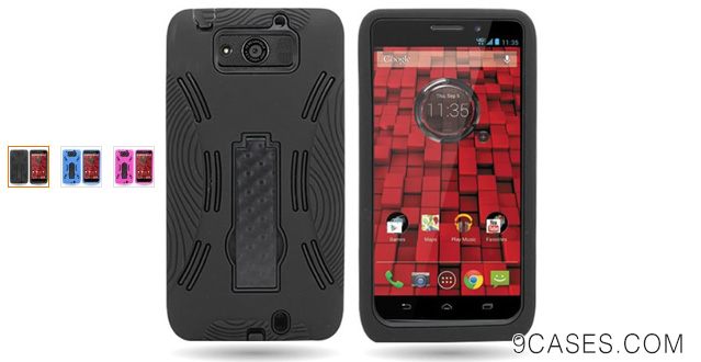 07-CoverON® For Motorola Droid Ultra XT1080 Hybrid Impact Case